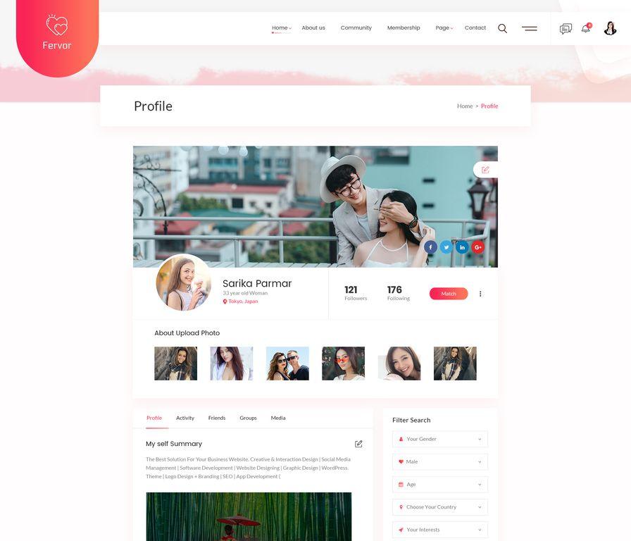 crearea site- ului de dating)